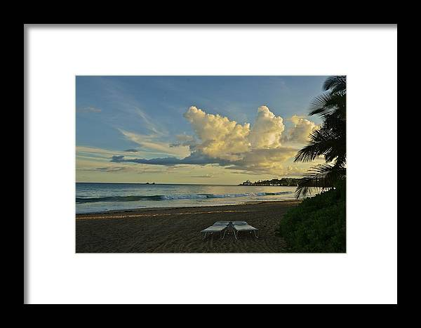 Landscape Framed Print featuring the photograph Essence Of Vacation by Nancy Rohrig