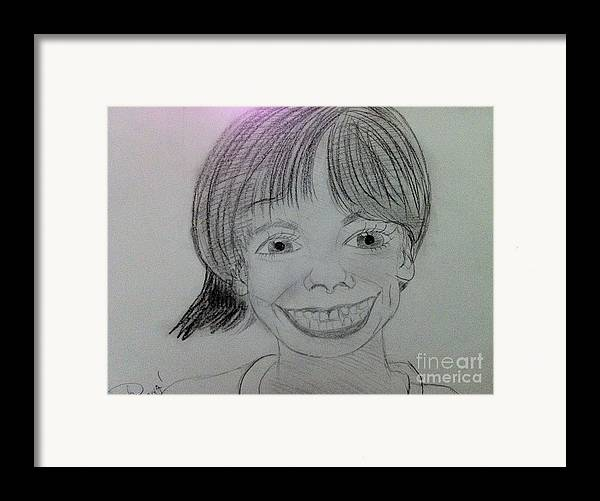 The Late Missing Child Framed Print featuring the drawing Etan Patz by Charita Padilla