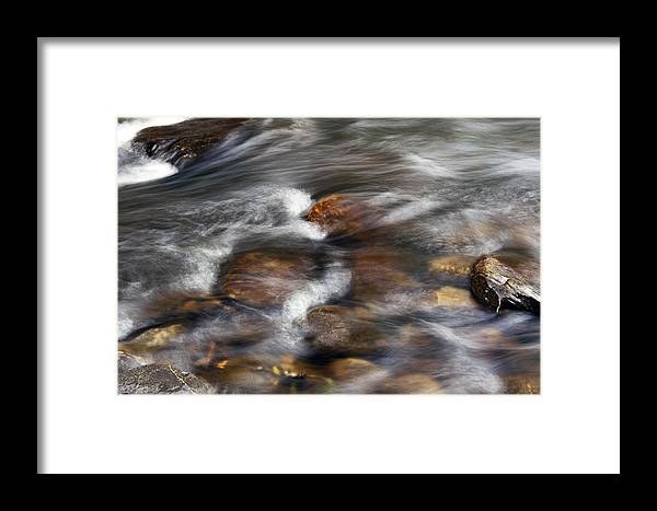 Stone Framed Print featuring the photograph Ethereal World by Glenn Gordon