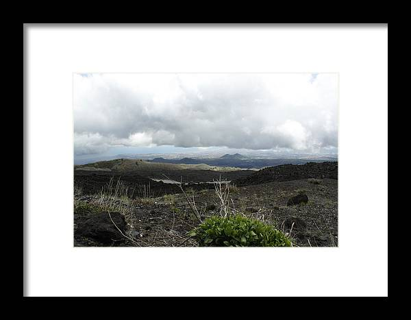 Framed Print featuring the photograph Etna's Landscape by Donato Iannuzzi