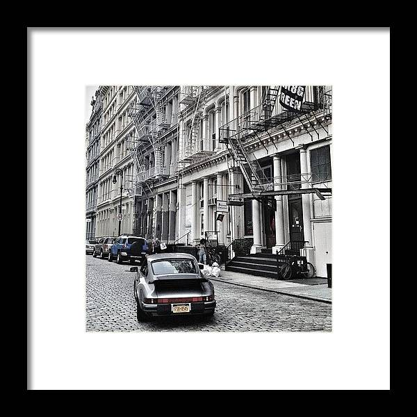 Summer Framed Print featuring the photograph European Design by Randy Lemoine