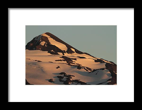 Middle Sister Framed Print featuring the photograph Evening Into Night by Laddie Halupa