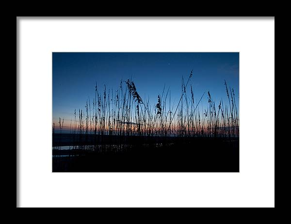 Sunset Framed Print featuring the photograph Evening Star by Christine Stonebridge