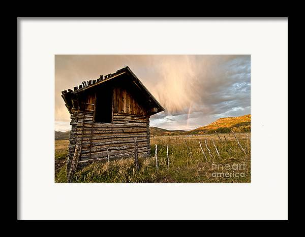 Durango Framed Print featuring the photograph Evening Storm by Jeff Kolker