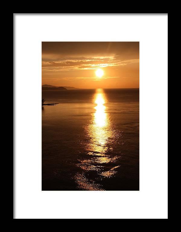 Jamaica Framed Print featuring the photograph Evenings End by JoAnn Hansen