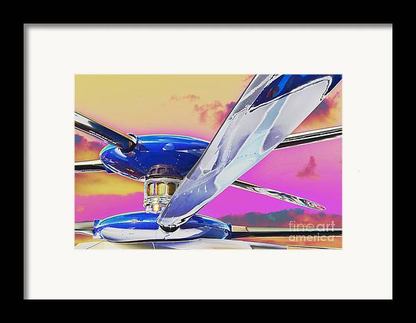 X2 Technology� Demonstrator Framed Print featuring the photograph Experimenting With An Experimental by Lynda Dawson-Youngclaus