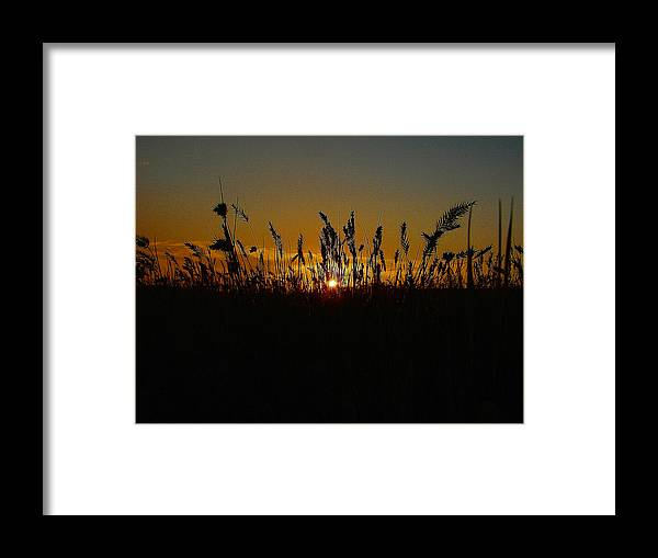 Sunset Framed Print featuring the photograph Fading Embers by Blair Wainman