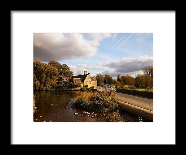 Fairford Framed Print featuring the photograph Fairford Mill In The Evening by Nick Temple-Fry