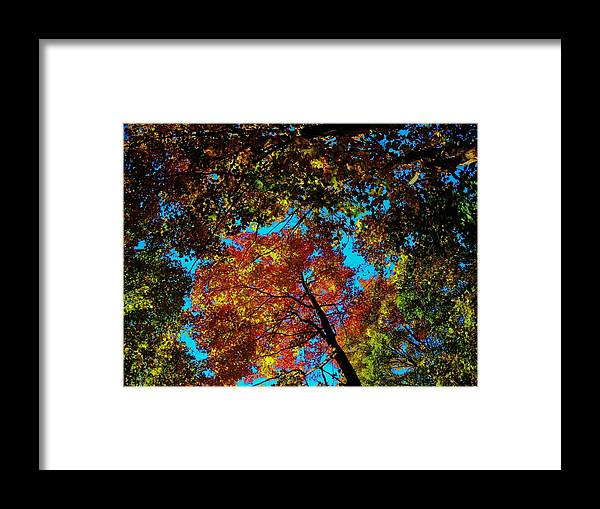 North America Framed Print featuring the photograph Fall Arrives ... by Juergen Weiss