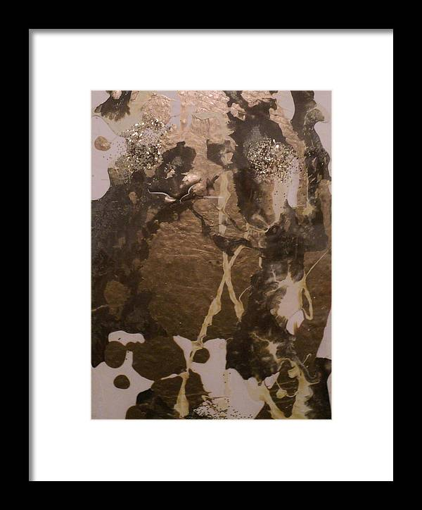 Acrylic Peel Framed Print featuring the painting Fall Frost by Shelli Finch