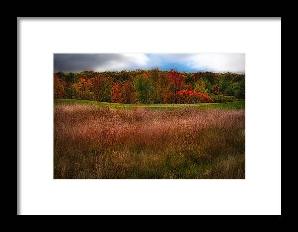 Golf Framed Print featuring the photograph Fall Golf by Jarrod Erbe