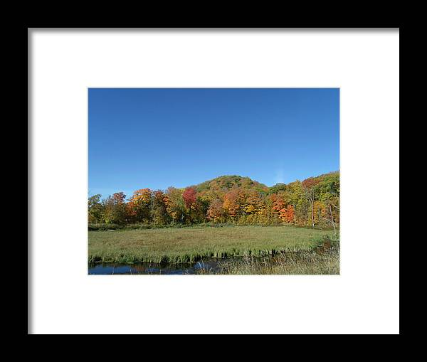 Fall River Mountain Framed Print featuring the photograph Fall River Mountain by Brian Maloney