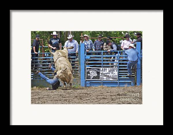 Photography Framed Print featuring the photograph Fallen Cowboy by Sean Griffin