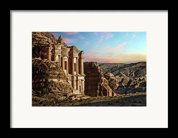 Horizontal Framed Print featuring the photograph Fantasy by David Lazar