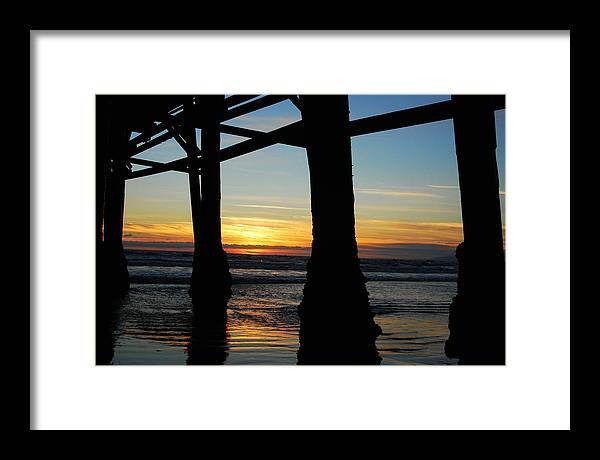 Sunset Framed Print featuring the photograph Farewell To The Sun by Yulia