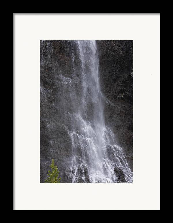 Farie Falls Framed Print featuring the photograph Farie Falls by Charles Warren