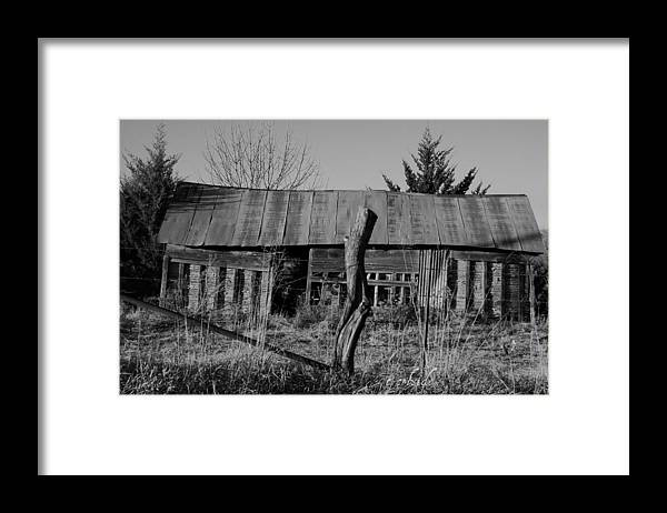 Farm Framed Print featuring the photograph Farmers Building by Chris Berry