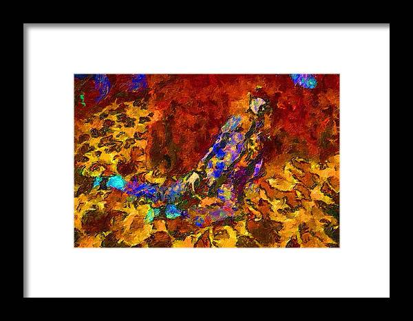 Impressionist Fashion Painting Framed Print featuring the painting Fashion 401 by Jacques Silberstein