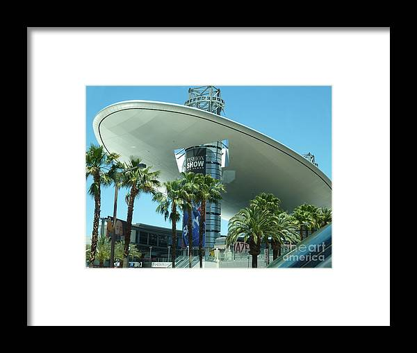Las Vegas Framed Print featuring the photograph Fashion Show Shopping Mall Las Vegas Nevada by Merridy Jeffery