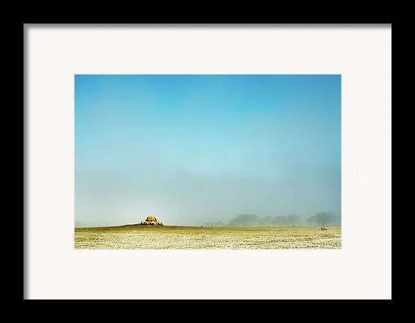 Horizontal Framed Print featuring the photograph Feeding Time by Paul McGee