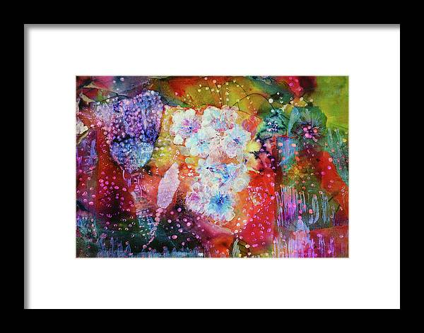 Fiesta Painting Framed Print featuring the painting Fiesta Painting by Don Wright