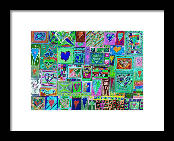 Find U'r Love Found Framed Print featuring the photograph find U'r love found v10 by Kenneth James