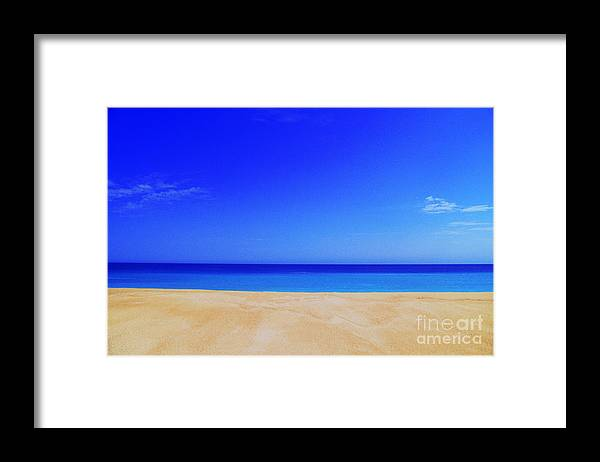 Sea Framed Print featuring the photograph Finity by Gib Martinez