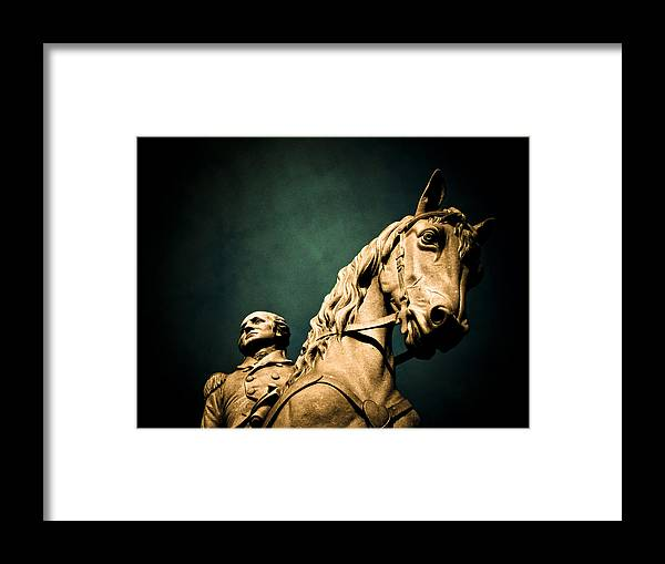 President Framed Print featuring the photograph First And Foremost by Jessica Brawley