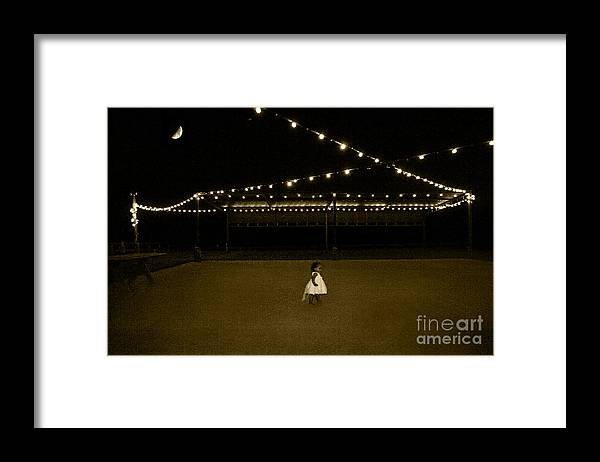 Antique Framed Print featuring the photograph First Dancer Out by Gib Martinez