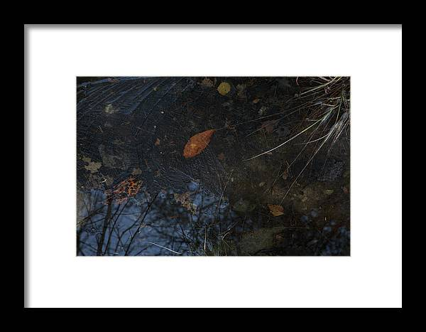 Autumn Framed Print featuring the photograph First Ice by Ulrich Kunst And Bettina Scheidulin