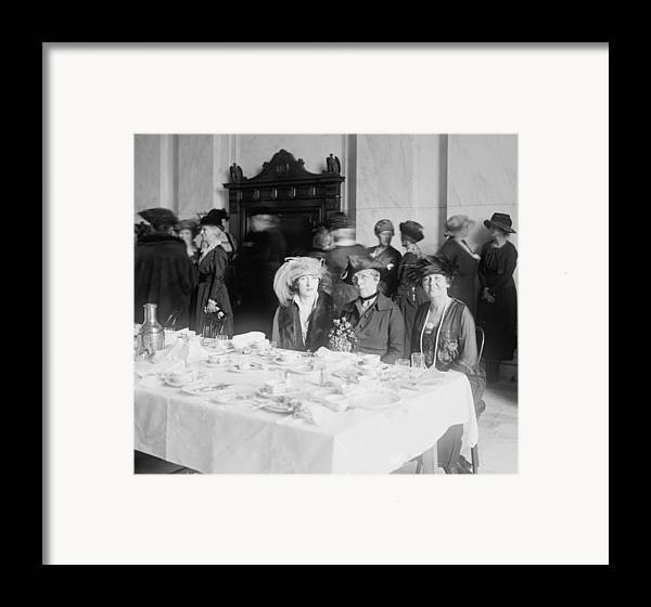 History Framed Print featuring the photograph First Lady Florence Harding 1860-1924 by Everett