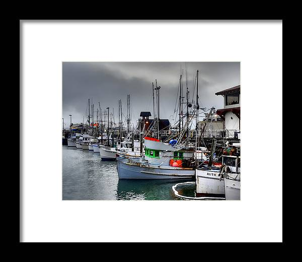 Fishermans Wharf Framed Print featuring the photograph Fishermans Wharf by Al Perry