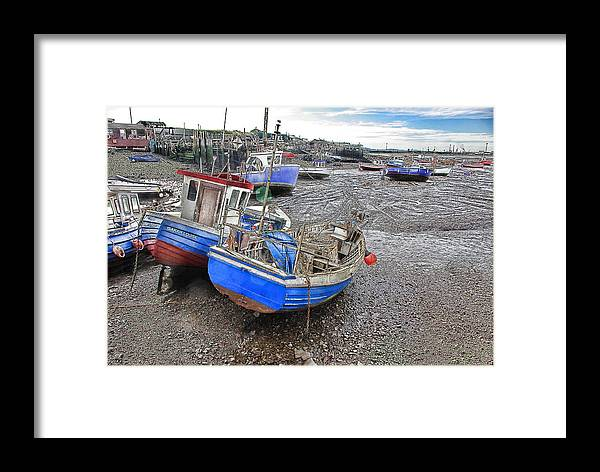 Boat Framed Print featuring the photograph Fishing Fleet - Paddy's Hole by Trevor Kersley