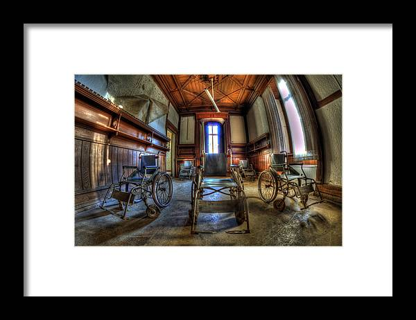 Abandoned Framed Print featuring the photograph Five go mad for wheels by Nathan Wright