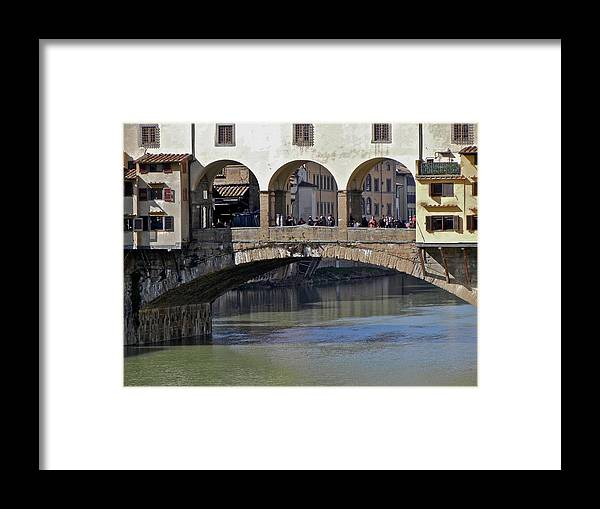 Florence Framed Print featuring the photograph Florence II by David Ritsema