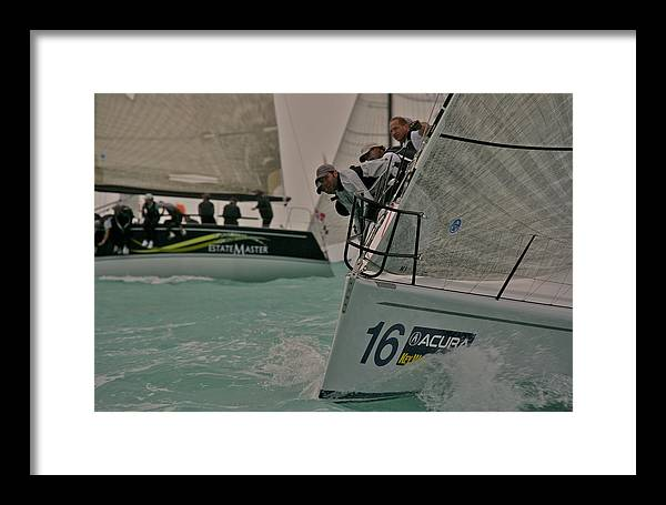 Miami Framed Print featuring the photograph Florida Race Week by Steven Lapkin