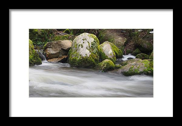 River Framed Print featuring the photograph Flow by Lois Romer