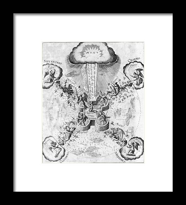 Health Framed Print featuring the photograph Fludd's System Of Health by Middle Temple Library