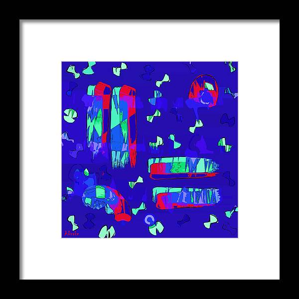 Fly Framed Print featuring the digital art Fly Me Home by Alec Drake