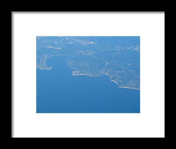 Sky Framed Print featuring the photograph Flying Over Land by Tamika Carroll