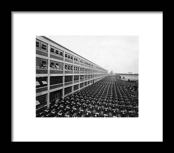 Ford Motor Company, Ca. 1920s Framed Print by Everett