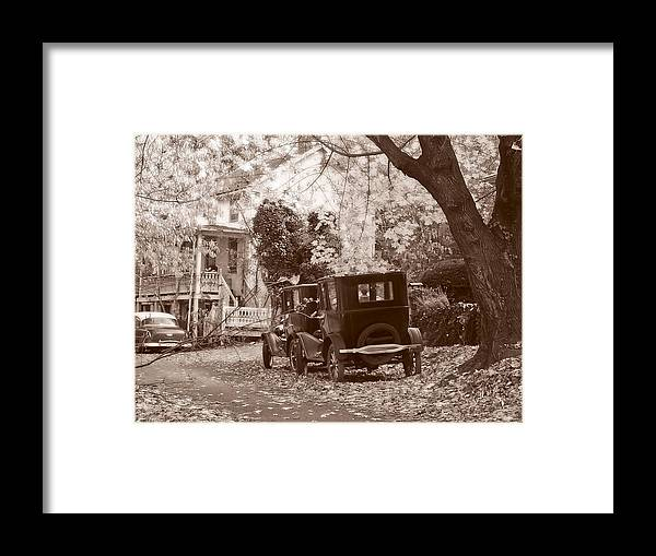 Fall Framed Print featuring the photograph Fords At Harpers Ferry by Williams-Cairns Photography LLC