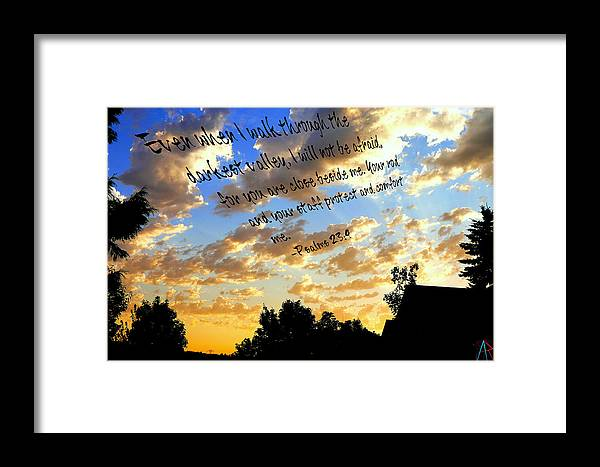 Beside Framed Print featuring the photograph Forever A Comfort by Amanda Rose