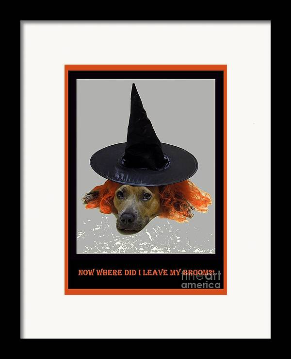 Halloween Framed Print featuring the photograph Forgetful by Renee Trenholm