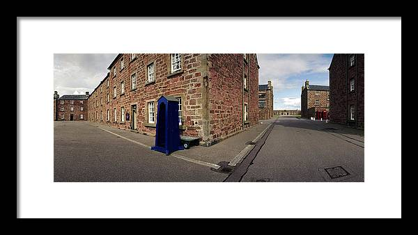 Barracks Framed Print featuring the photograph Fort George Barracks by Jan W Faul