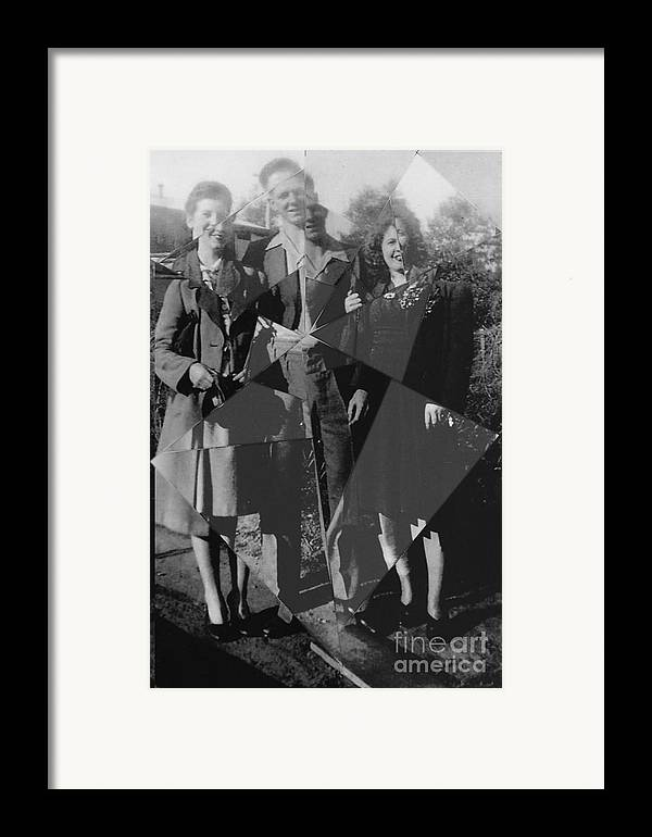 Family Framed Print featuring the photograph Fractured Family by Joanne Kocwin