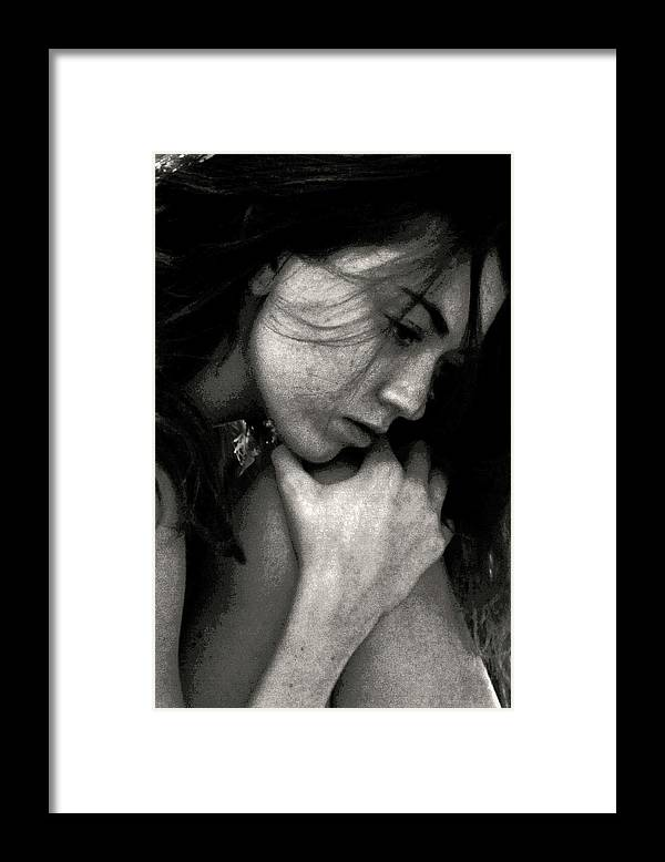 Fragility Framed Print featuring the photograph Fragility by John Banegas
