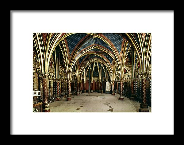13th Century Framed Print featuring the photograph France: Ste. Chapelle by Granger