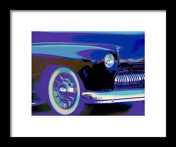 Mercury Framed Print featuring the photograph Frankie's Black Beauty by Chuck Re