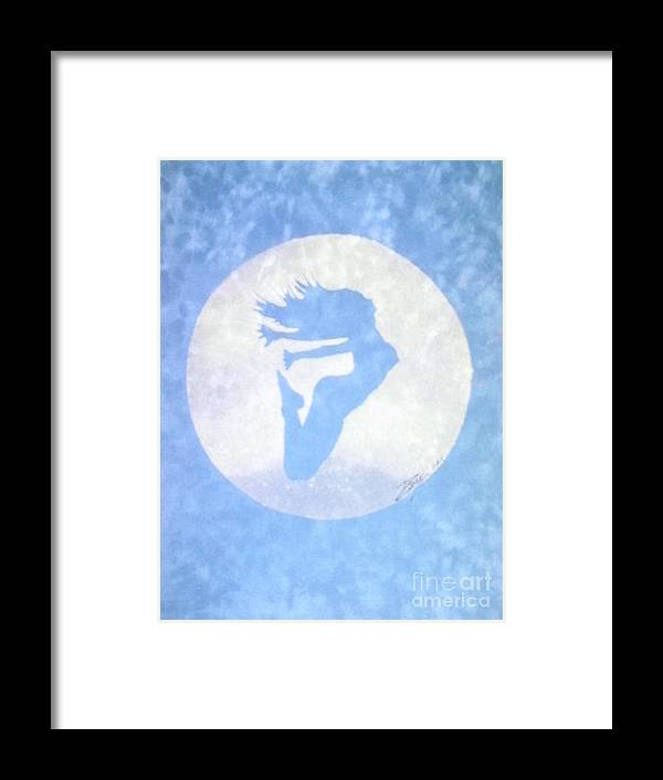 Art For Sale Framed Print featuring the mixed media Free Spirit by Derrick Smith